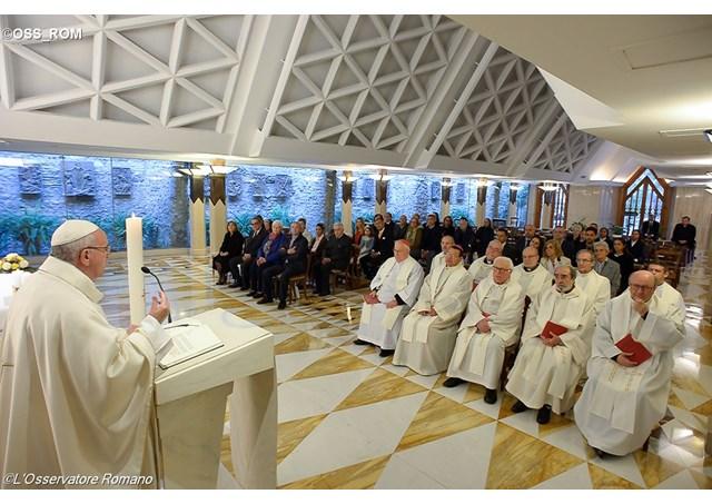 Папа: Святий Дух дає силу свідчити про Ісуса навіть під час переслідувань
