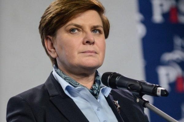 Премьер Польши получила травмы в ДТП у Освенцима