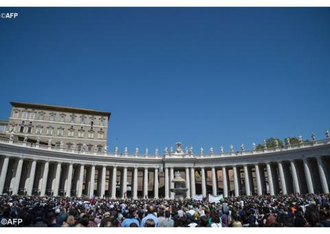 Папа: Християни покликані звіщати милосердну силу Воскреслого Христа