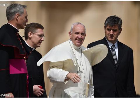 Папа привітав поляків з 1050-ою річницею Хрещення Польщі