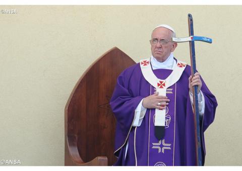 16 квітня Папа Франциск відвідає острів Лесбос