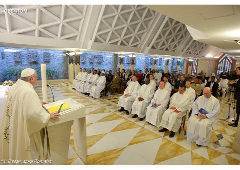 Папа: Церква прямує вперед завдяки «буденним» святим і сучасним мученикам