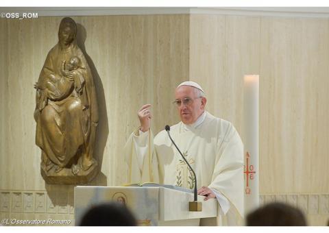Папа Франциск про наслідки закам'янілості серця