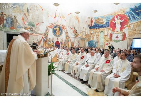 Папа: Молімося одні за одних, щоб бути витривалими у свідченні