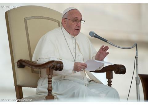 Папа привітав чорнобильців з України та пригадав про збірку для гуманітраних потреб України