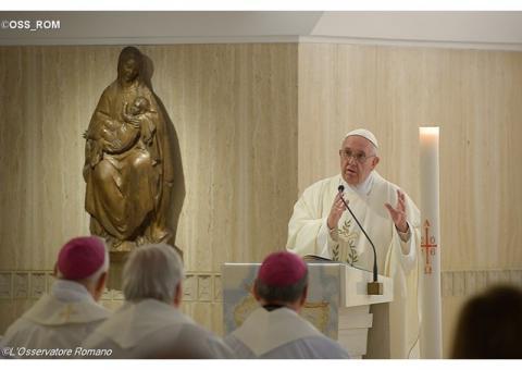 Папа: упокорення уможливлює людині відкрити серце на діяння Святого Духа