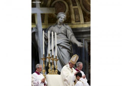 Папа Франциск уділив пресвітерські свячення одинадцятьом дияконам