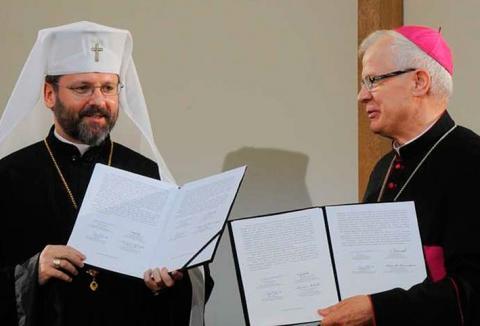 УГКЦ та РКЦ Польщі підписали спільну декларацію з нагоди 70 х роковин Волинської трагедії