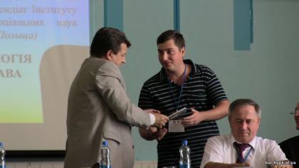 Віктор Мельник на конференції в м. Бар