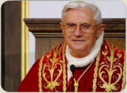 Сьогодні день народження Бенедикта XVI