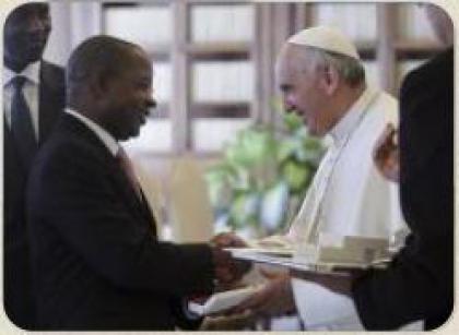 Папа Франциск прийняв Прем'єр-міністра Мозамбіку