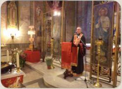 Преосвященний Владика Діонісій Ляхович провів передпасхальні дні духовної віднови в українській парафії в Римі