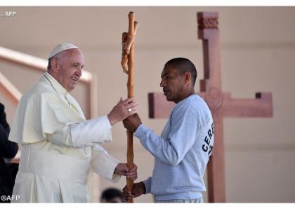 Папа до в'язнів: Дайте Богові можливість вчинити так, щоб ви «сяяли» переміною минулого