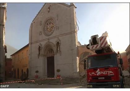 Папа молиться за постраждалих від землетрусів у центральній Італії