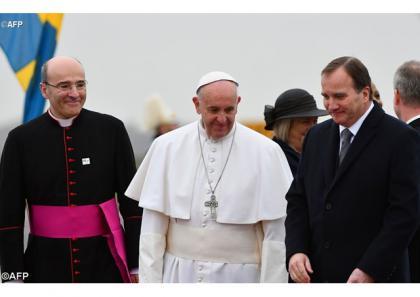 Папа Франциск прибув до Швеції
