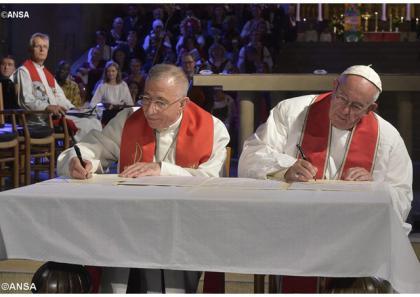 Спільна декларація з нагоди спільного католицько-лютеранського спогадування Реформації