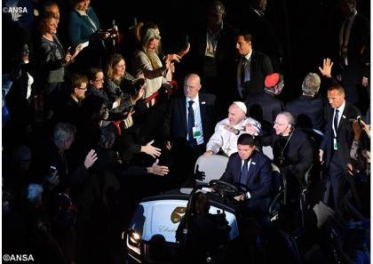 Перший день візиту Папи Франциска до Швеції (31 жовтня 2016)