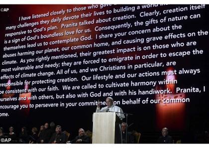 Папа: Повертаймося додому, постановивши бути свідками християнської надії