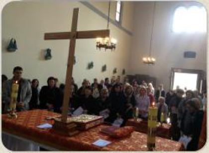 Вірні УГКЦ північно-італійського м. Павія молились за збереження життя ненароджених дітей.