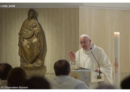 Папа Франциск: пам'ять про Божу присутність зміцнює на шляху віри