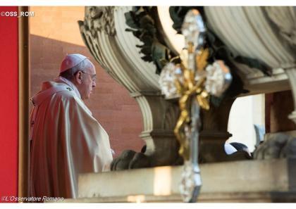 Франциск очолить Святу Месу на римських кладовищах