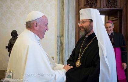 Папа Франциск продовжив мандат Глави УГКЦ в Папській раді сприяння єдності християн