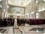 Папа прийняв членів Papal Foundation